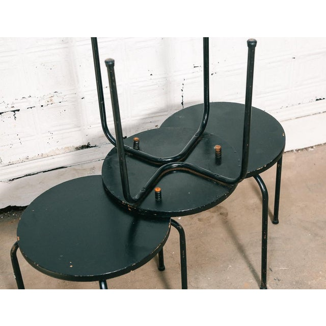 Knoll Set of 3 Stacking Stools / Side Tables For Sale - Image 4 of 8