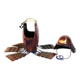 Late 18th Century Samurai Armor, 2 Pieces For Sale
