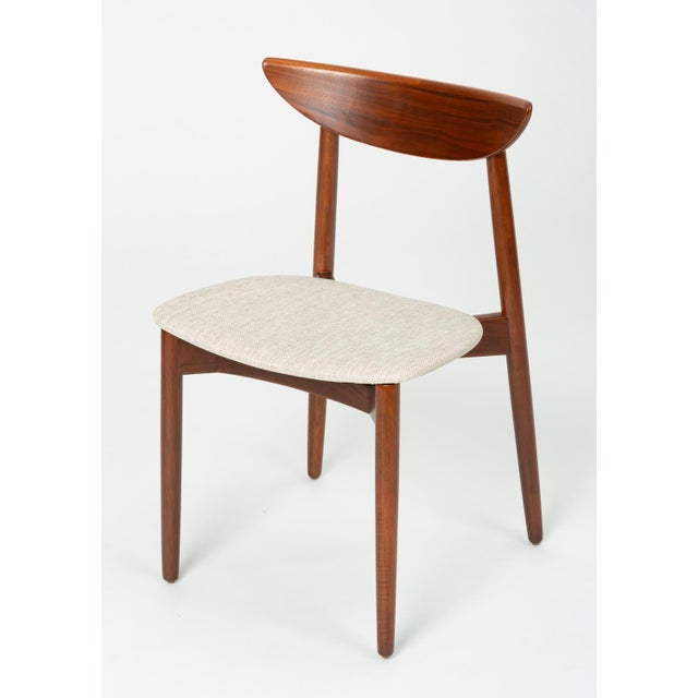 Wood Set of Four Dining Chairs by Harry Østergaard for Randers Møbelfabrik For Sale - Image 7 of 13