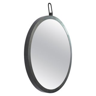 "Hand-Sculpted Mirror ""Plain"" Signed by Lukas Friedrich For Sale"