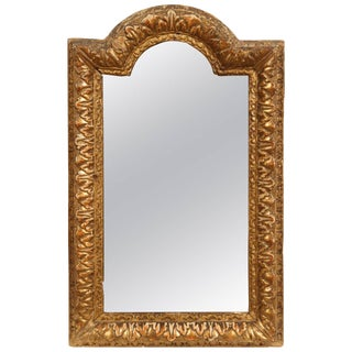 Early 18th Century French Regency Gold Mirror For Sale