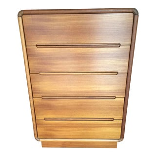 Teak Danish Modern Dresser For Sale