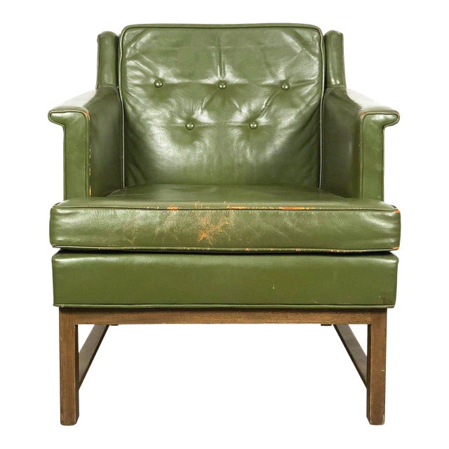 1950s Vintage Edward Wormley for Dunbar Petite Lounge Chair For Sale