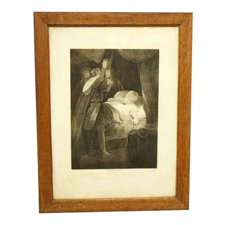 Vintage Shakespeare King Henry VI Print For Sale