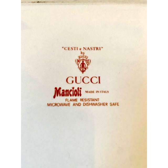 Mid 20th Century Gucci Bouquet Ashtray/ Catchall For Sale - Image 5 of 8