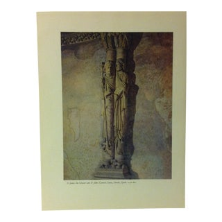 """1957 """"St. James the Greater and St. John - Camara Santa"""" the Influence of the Shell on Humankind Print For Sale"""