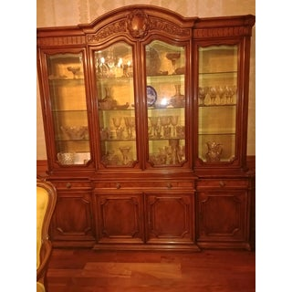 1970s Vintage Karges Louis XV China Cabinet Preview