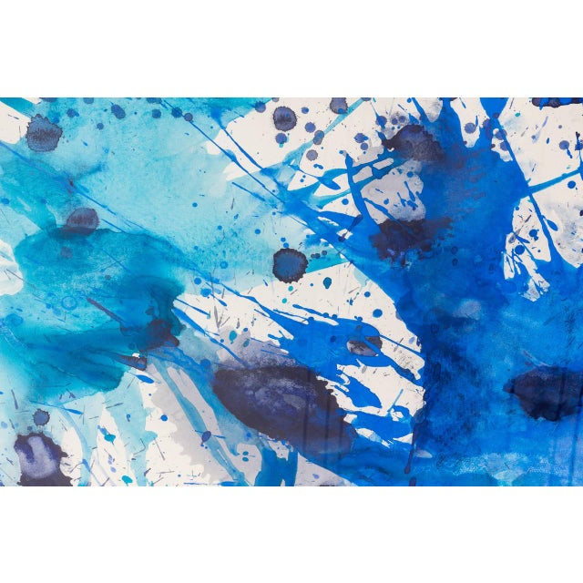 2000s J. Steven Manolis Abstract Gouache and Watercolor on Paper, 2007, USA For Sale - Image 5 of 7
