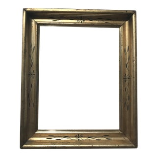 1850s Giltwood Picture Frame For Sale