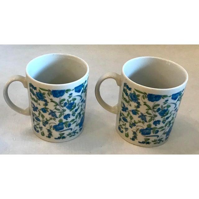 Vintage Japanese Ceramic Tea or Coffee Mugs - Set of 6 For Sale - Image 9 of 12