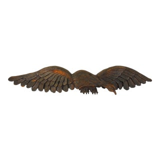 American Eagle Wall Sculpture For Sale