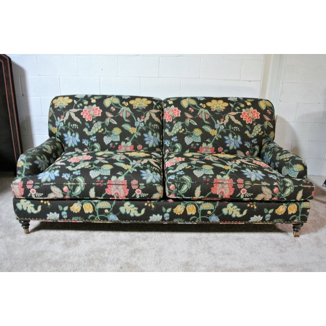 Mid 20th Century Addison Interiors Willis Tight Back Sofa For Sale - Image 5 of 8