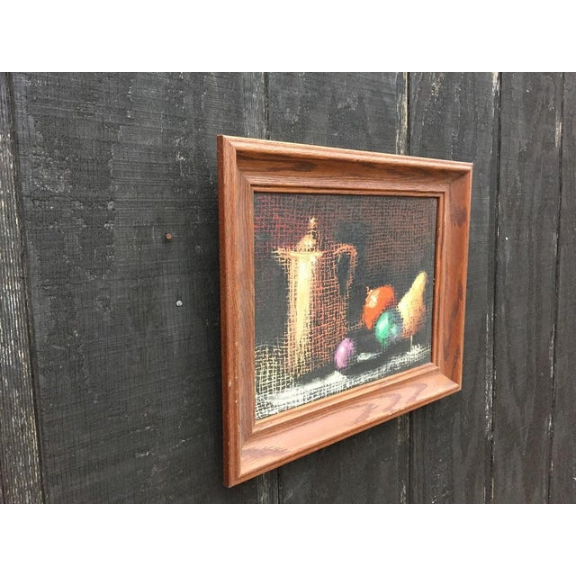 Cottage Italian Still Life Original Oil Painting For Sale - Image 3 of 10