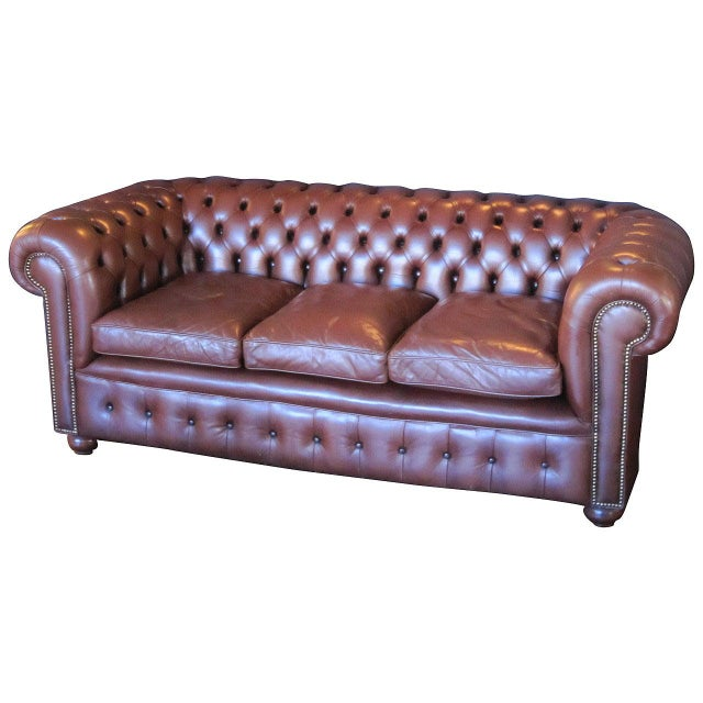 English Chesterfield Sofa For Sale - Image 11 of 11