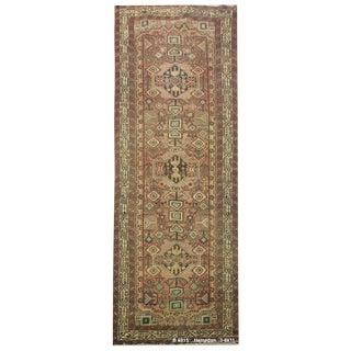 Vintage Persian Hamedan Rug - 3'6'' x 11' For Sale