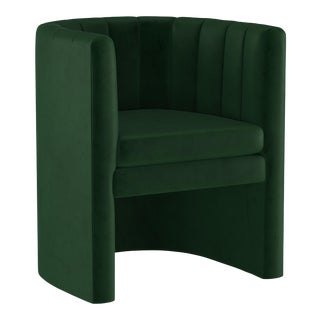 Chair, Fauxmo Emerald For Sale