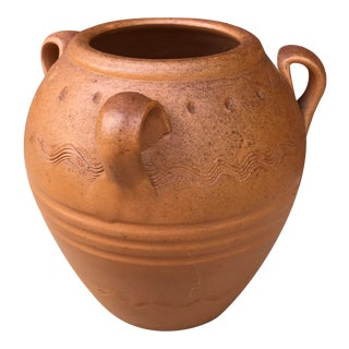 20th Century Rustic Terracotta Oil Jar