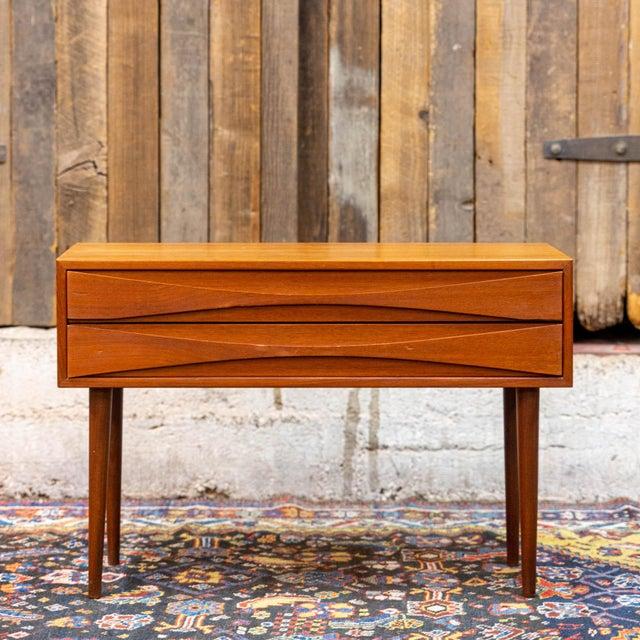 Brown Danish Modern Arne Vodder for Nc Mobler Odense Teak Chest For Sale - Image 8 of 8