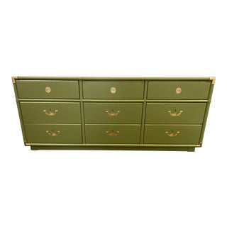 1960s Campaign Drexel Accolade Lowboy For Sale