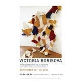 "Image of 2018 Victoria Borisova ""Transformation of a Pattern"" New York City Art Exhibition Poster 12 X 18 In. For Sale"