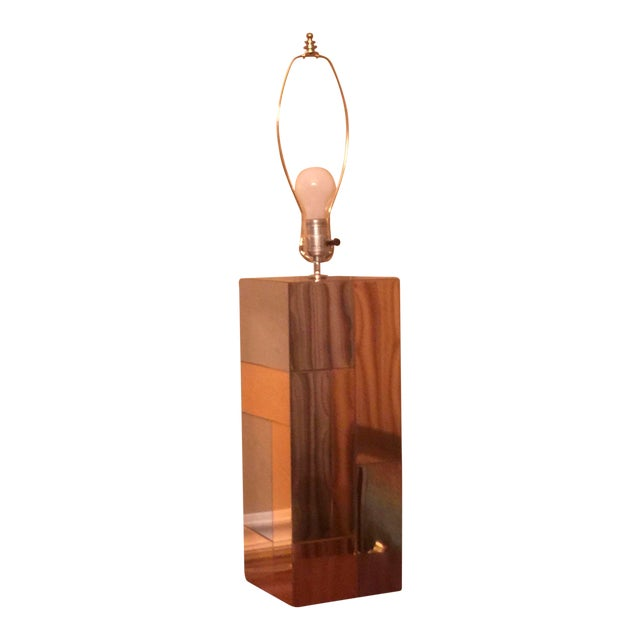 Paul Evans Cityscape Table Lamp - Image 1 of 6