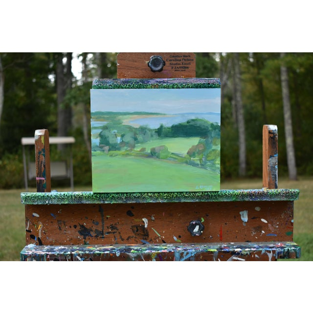 """Paint Contemporary """"Surf N Turf"""" Plein Air Painting by Stephen Remick For Sale - Image 7 of 8"""