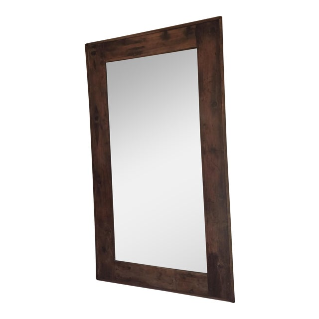 Ideal Restoration Hardware Salvaged Boatwood Mirror | Chairish UE85