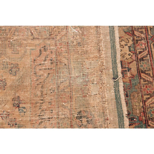 17th Century Small Size Persian Khorassan Rug For Sale In New York - Image 6 of 13