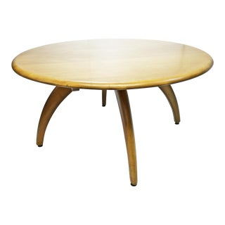 Mid Century Modern Heywood Wakefield Lazy Susan Coffee Table