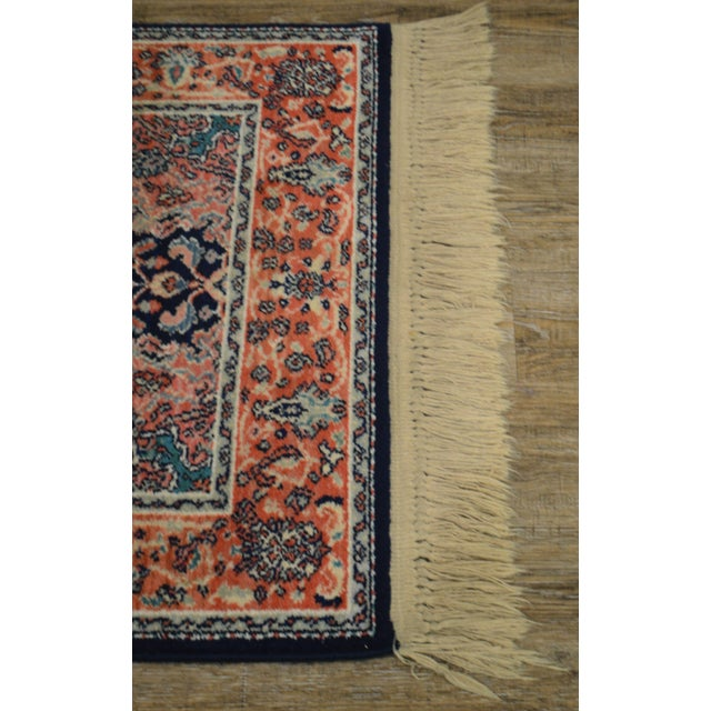 "Karastan Kashan Medallion 2'10"" X 5' Throw Rug #741 (A) For Sale - Image 9 of 13"