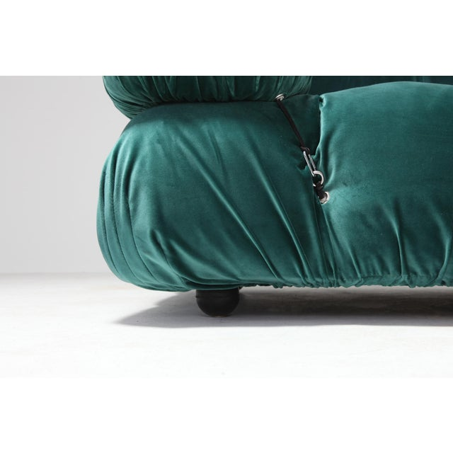Green Camaleonda Sectional Sofa by Mario Bellini For Sale - Image 8 of 9