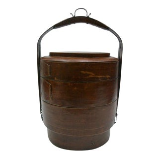 19th Century Basket Box For Sale