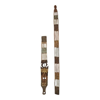 Mid 20th Century Tall Dogon Sirige Mask Mali For Sale