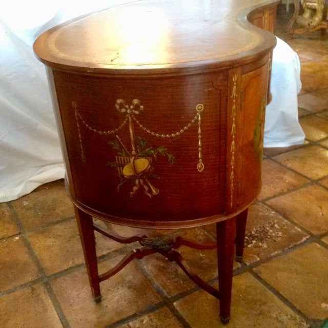 19th Century English Adam Style Vanity For Sale In West Palm - Image 6 of 13