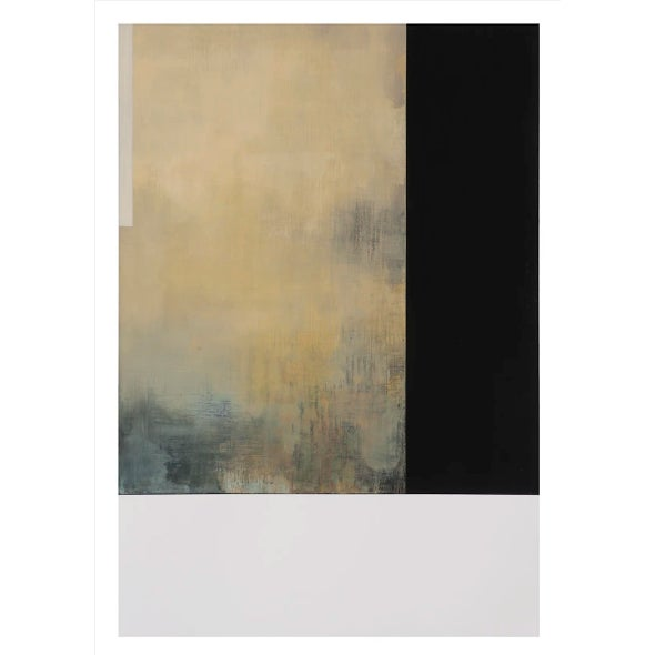 """Abstract Tamar Zinn """"At the Still Point 40"""" Oil Painting C. 2017 For Sale - Image 3 of 3"""