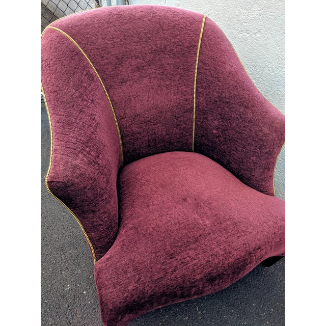 """1980s 1980s Donghia """"Shell"""" Chair For Sale - Image 5 of 10"""