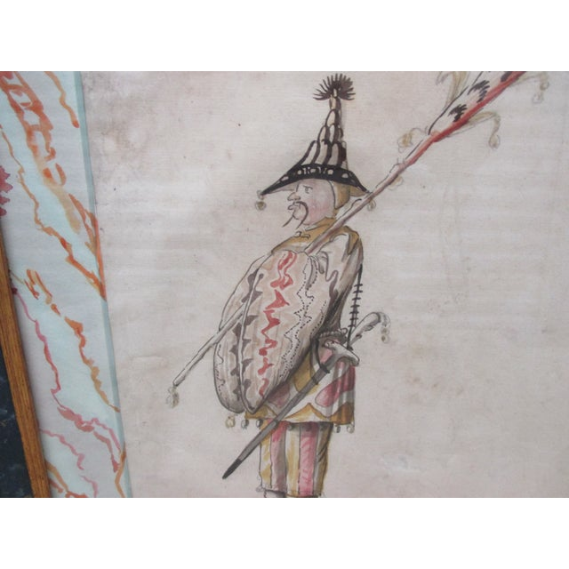 Asian Study of an Officer From l'Antiquaire & the Connoisseur in New York For Sale - Image 3 of 7
