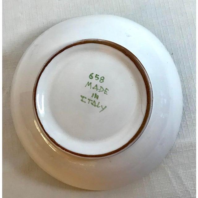 Figurative Late 20th Century Vintage Italian Ceramic Lemon Bowl For Sale - Image 3 of 4
