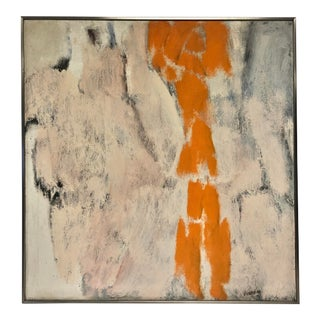 1950s Mid Century Abstract Painting by John L. Goodyear For Sale