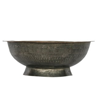 Antique Copper Bowl | Isfahan Bowl For Sale