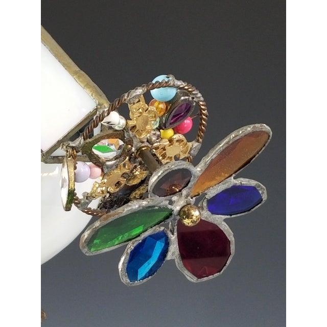 Large Handmade Kaleidoscope - 1985 San Francisco Murano Art Glass For Sale - Image 4 of 12