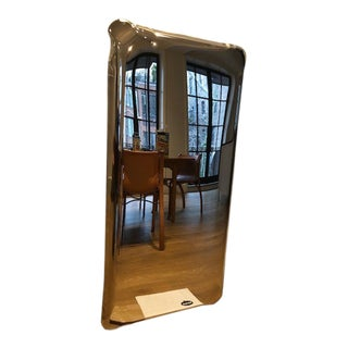 Tafla Q2 Mirror in Polished Stainless Steel by Zieta - Rectangle For Sale