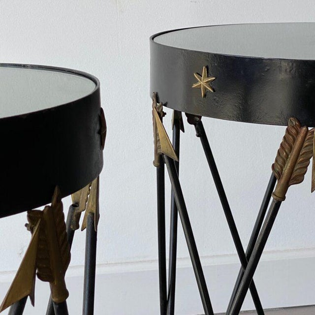 Mid-Century Decorative Side Tables - A Pair For Sale - Image 4 of 5