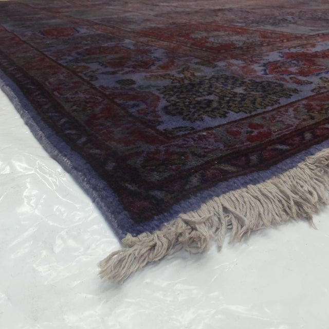 Leon Bnailivi Over Dye Persian Rug - 7′9″ × 12′ For Sale - Image 5 of 6