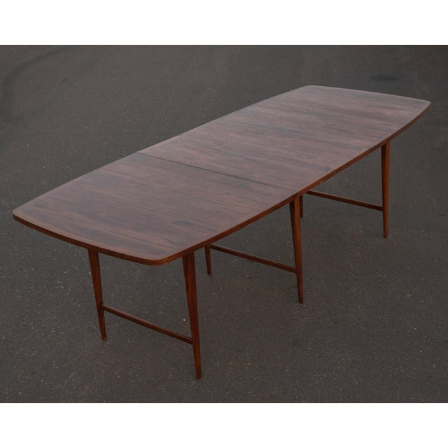 1960s 1960s Mid-Century Modern Paul McCobb Rosewood Lane Delineator Series Dining Table For Sale - Image 5 of 10
