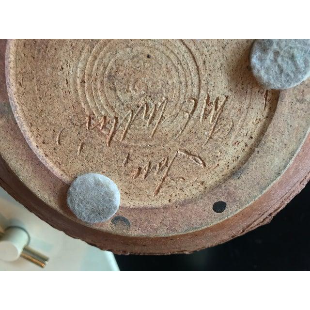 1970s Tom McMillin Studio Ceramics Pottery Vessel Bowl For Sale - Image 5 of 6