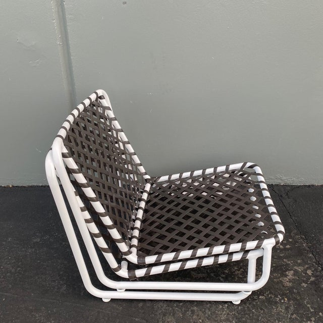 Mid-Century Modern Brown Jordan Tamiami Sand Chairs- 2 Piece For Sale - Image 3 of 6