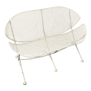 1950s Vintage Clamshell Settee by Tempestini for Salterini For Sale