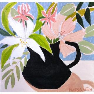 April Florals 6 Original Painting by Marisa Añón. For Sale