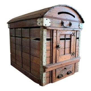 1880's Show Dog Travel Kennel For Sale